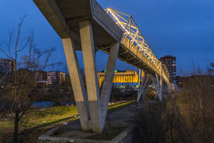Bridge Valladolid Royalty Free Stock Image