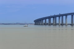 Bridge Vasco da Gama Royalty Free Stock Photography