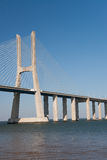 Bridge Vasco de Gama Royalty Free Stock Photography