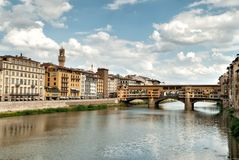 Bridge Vecchio in Florence Royalty Free Stock Image