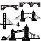 Bridge Vector 2 Stock Photography
