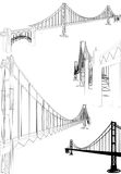 The Bridge Vector 06 Royalty Free Stock Image
