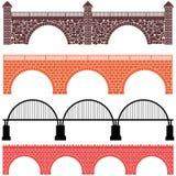 Bridge. Vector illustration (EPS 10&#x29 Royalty Free Stock Photos