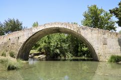 Bridge in venetian style on Crete Stock Photos