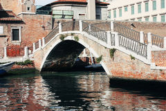 Bridge in Venice Royalty Free Stock Photos