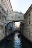 The bridge in Venice Stock Image