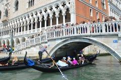 Bridge in Venice Royalty Free Stock Image