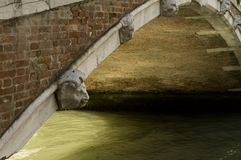 Bridge in Venice, Italy Royalty Free Stock Photography