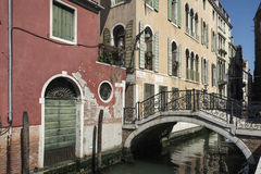 A Bridge of Venice. From a Trip around Venice, Italy Royalty Free Stock Images