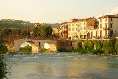 Bridge in Verona Royalty Free Stock Photo