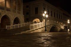 Bridge via the Palace channel Stock Images