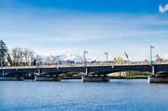 Bridge in Vichy, France, auvergne Stock Images
