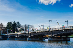 Bridge in Vichy, France, auvergne Royalty Free Stock Images