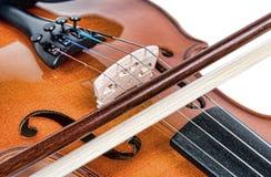 Bridge of a violin Royalty Free Stock Photos