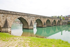 Bridge, Visegrad Royalty Free Stock Images