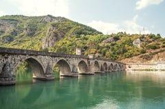 Bridge in Visegrad Stock Image