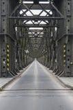 Bridge on the Vistula River Stock Image