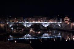 Bridge Vittorio Emanuele - Rome Stock Images
