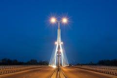 Bridge in Warsaw Stock Image