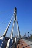 Bridge in warsaw. Bridge swietokrzyski royalty free stock images