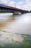 Bridge in Warsaw Stock Photo