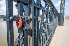 Bridge in Warsaw Stock Photography
