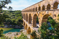 The bridge was built in Roman times Royalty Free Stock Photography