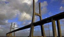 Bridge Waszka de Gama Stock Images