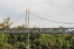 Bridge wat  phra samut chedi Stock Images