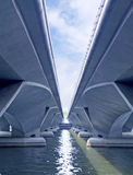 Bridge on Water Royalty Free Stock Photography