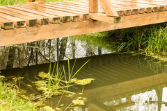 Bridge and water Stock Photography