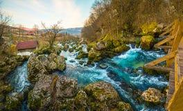 Bridge Waterfall Stock Photography