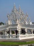 Bridge of White Temple Wat Rong Khun inChiang Rai Stock Photo