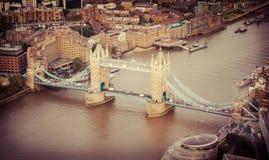 bridge1 wieży Zdjęcia Stock