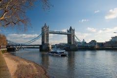 bridge1 wieży Fotografia Royalty Free