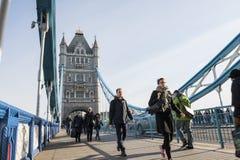bridge1 wieży Zdjęcie Stock