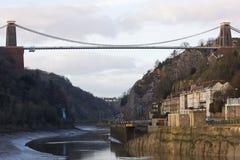 Bridge in Winter Royalty Free Stock Photo