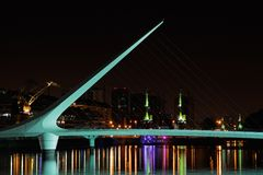 Bridge of the woman, Buenos Aires Stock Photography