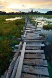 Bridge wood Stock Images