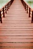 Bridge wood. Old Stock Photography