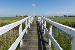 Bridge at Workum Friesland Royalty Free Stock Photo