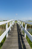 Bridge at Workum Friesland vertical Royalty Free Stock Photo