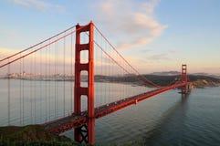 bridge wrót San Francisco złoty Fotografia Royalty Free