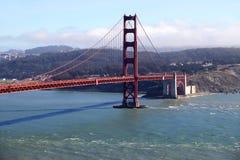 bridge wrót San Francisco złoty Calofornia Obrazy Royalty Free