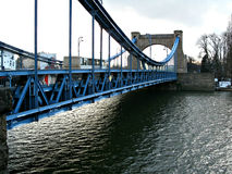 Bridge in Wroclaw, Poland Royalty Free Stock Images