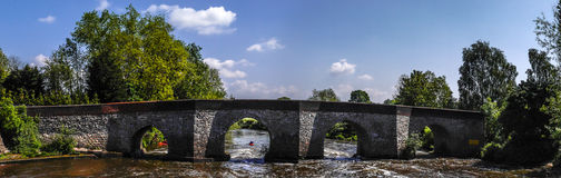 Bridge at Yalding Kent Stock Photography