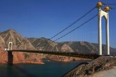 Bridge on Yaohe river in Gannan Stock Image