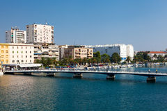 Bridge in Zadar Royalty Free Stock Photos