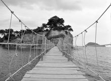 Bridge in Zakynthos Royalty Free Stock Photography