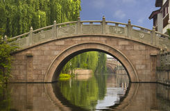 Bridge in Zhouzhuang, China Royalty Free Stock Photography